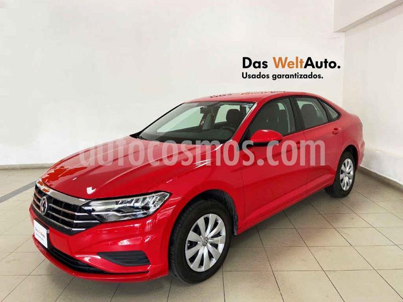 Volkswagen Jetta Trendline usado (2019) color Rojo precio $269,807
