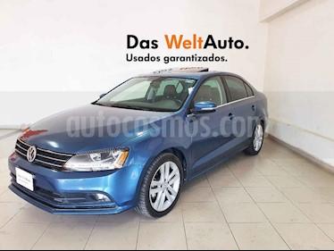 Volkswagen Jetta 4p Sportline L5/2.5 Aut usado (2018) color Azul precio $280,325