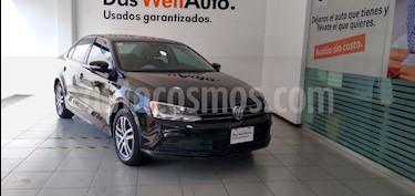 Volkswagen Jetta Trendline usado (2017) color Negro precio $195,000