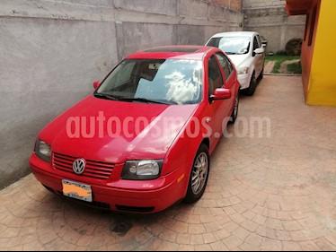 Volkswagen Jetta Sportline 1.8 T usado (2003) color Rojo precio $80,000