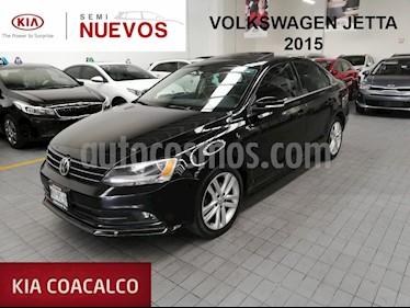 Foto venta Auto usado Volkswagen Jetta Sportline (2015) color Negro precio $210,000
