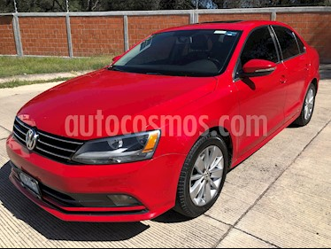 Volkswagen Jetta TDi DSG usado (2015) color Rojo precio $234,500