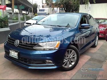 Foto venta Auto usado Volkswagen Jetta Trendline 2.0 Aut (2015) color Azul Cielo precio $190,000