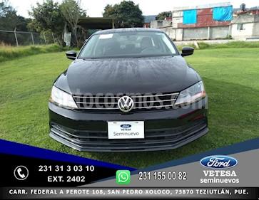 Volkswagen Jetta Trendline 2.0 usado (2018) color Negro precio $235,000