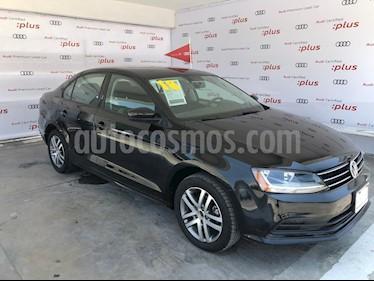 Foto venta Auto usado Volkswagen Jetta Trendline (2018) color Negro precio $229,500