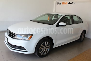 Volkswagen Jetta Trendline usado (2018) color Blanco precio $236,000