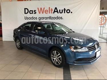 Foto venta Auto usado Volkswagen Jetta Trendline (2018) color Azul precio $255,000