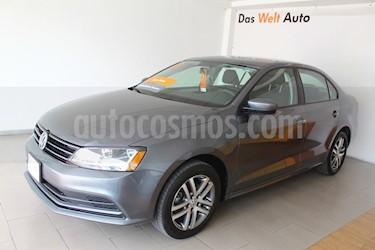 Foto venta Auto usado Volkswagen Jetta Trendline (2018) color Gris Platino precio $260,000