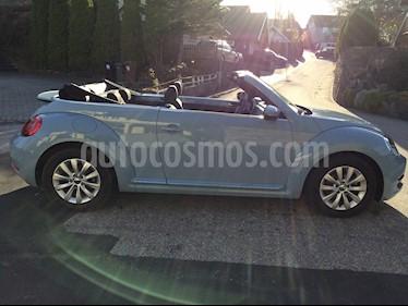 Volkswagen New Beetle Cabrio 2.5L usado (2013) color Azul precio u$s3,500