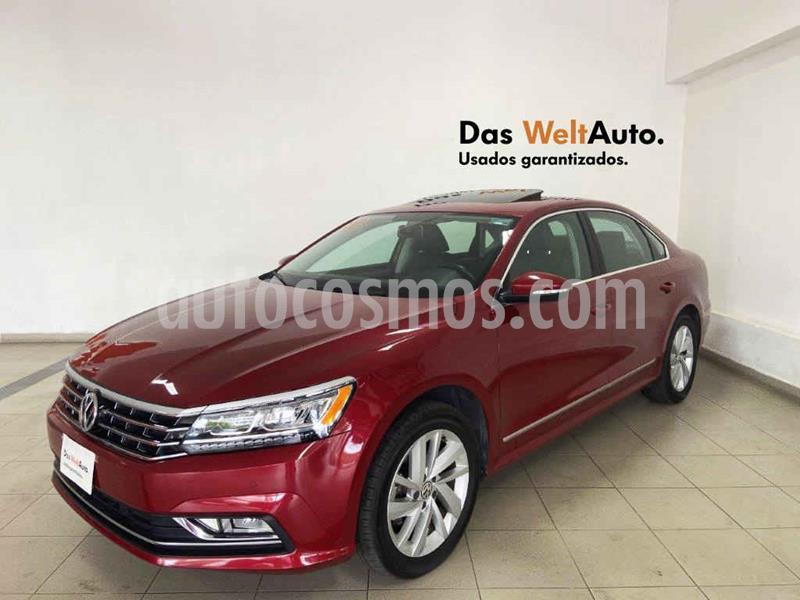 Volkswagen Passat Tiptronic Highline usado (2018) color Rojo precio $305,387