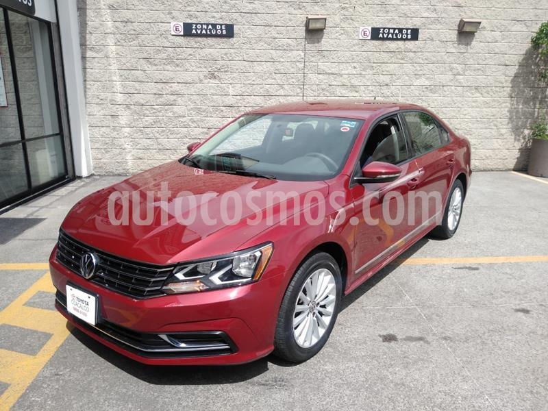 Volkswagen Passat Tiptronic Comfortline usado (2017) color Rojo precio $215,000