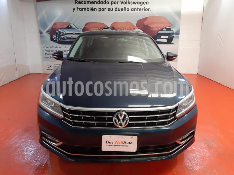 Volkswagen Passat Tiptronic Highline usado (2018) color Azul precio $345,741