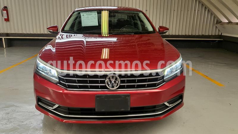Volkswagen Passat Tiptronic Sportline usado (2017) color Rojo precio $279,000