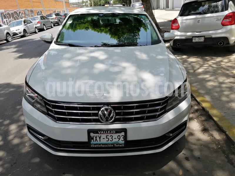 Volkswagen Passat Tiptronic Comfortline usado (2016) color Blanco Candy precio $210,000