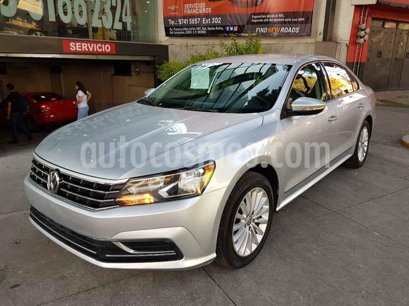 Volkswagen Passat Tiptronic Comfortline usado (2017) color Plata precio $215,000