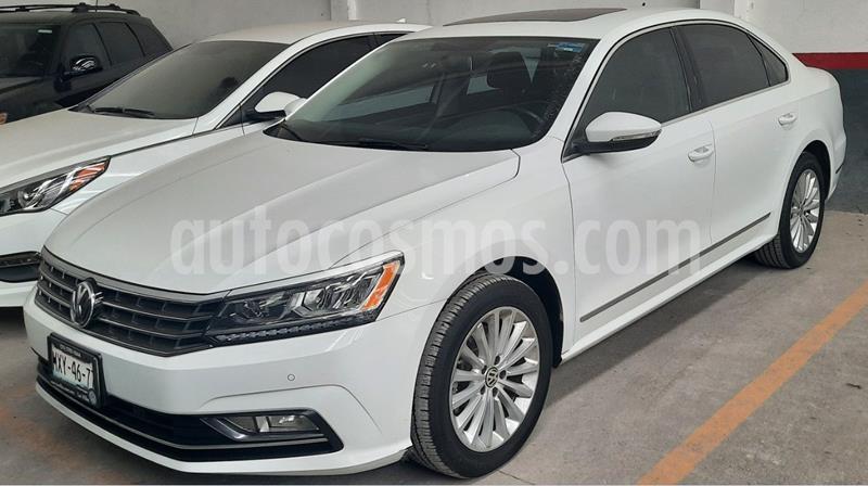 Volkswagen Passat Tiptronic Highline usado (2016) color Blanco precio $239,000