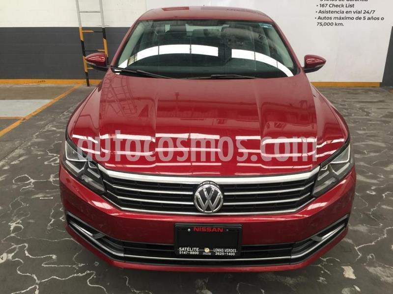 Volkswagen Passat Tiptronic Comfortline usado (2017) color Rojo precio $224,900