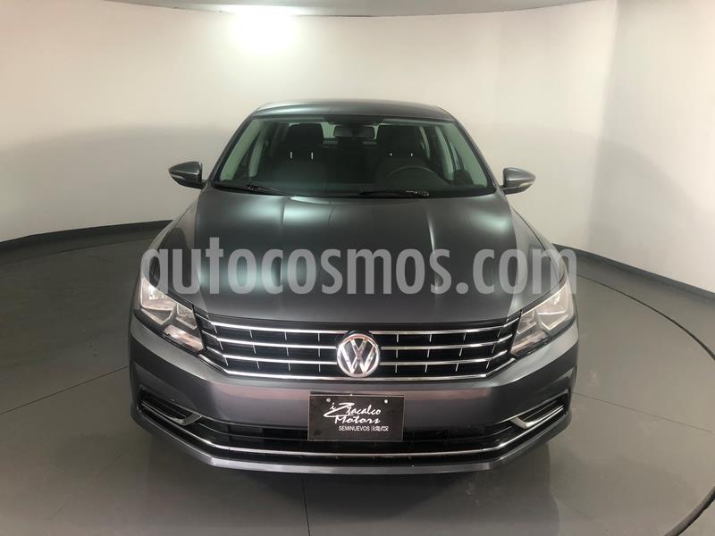 Volkswagen Passat Tiptronic Comfortline usado (2017) color Gris precio $219,000