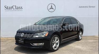 Volkswagen Passat 4p VR6 V6/3.6 Aut usado (2014) color Negro precio $229,900