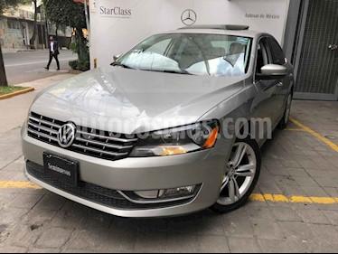 Volkswagen Passat GLX VR6 Aut usado (2014) color Cafe precio $195,000