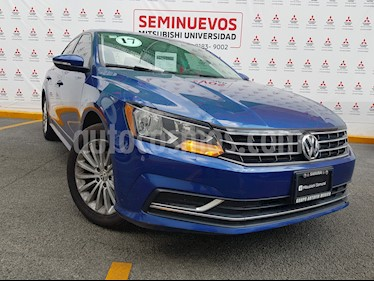 Volkswagen Passat Tiptronic Comfortline usado (2017) color Azul precio $249,000