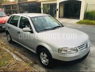 Volkswagen Pointer 5P Trendline usado (2008) color Gris Plata  precio $51,500