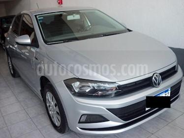 Foto venta Auto usado Volkswagen Polo 5P 1.6 TRENDLINE MSI (2018) color Gris precio $639.900