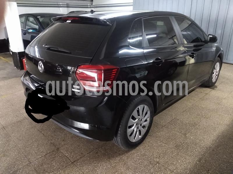 Volkswagen Polo 5P Trendline usado (2018) color Negro precio $810.000