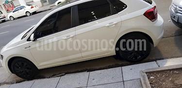 Volkswagen Polo 5P Highline usado (2018) color Blanco precio $1.200.000