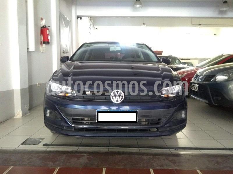 Volkswagen Polo 5P Trendline Aut usado (2018) color Azul precio $1.300.000