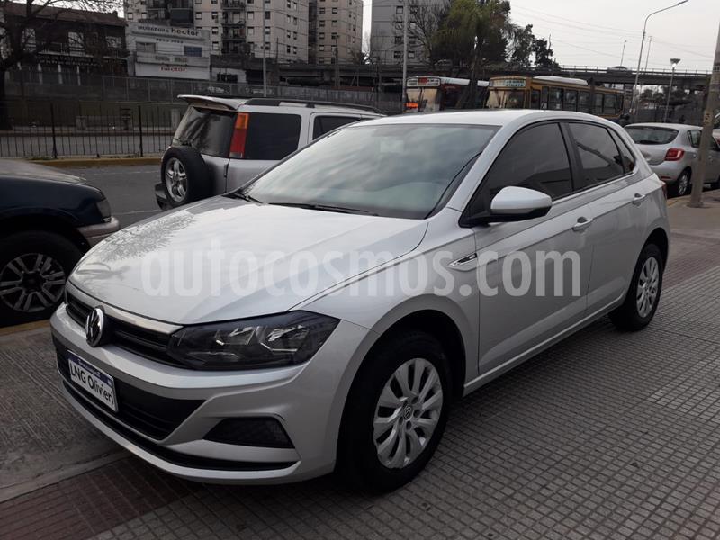 Volkswagen Polo 5P Trendline usado (2018) color Plata precio $1.030.000