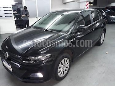 Volkswagen Polo 5P Trendline usado (2018) color Negro precio $814.000