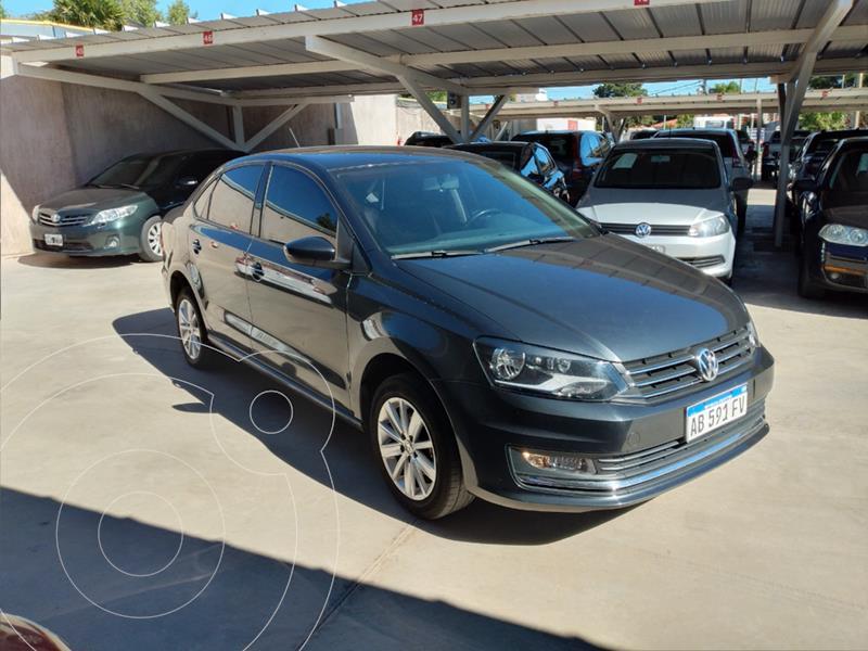 Volkswagen Polo 5P Comfortline Plus Aut usado (2017) color Gris Oscuro precio $1.300.000