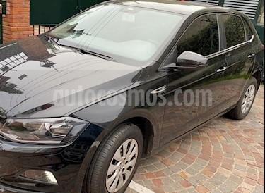 Volkswagen Polo 5P Trendline Aut usado (2018) color Negro precio $1.122.000