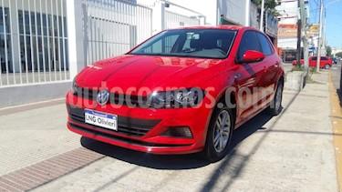 Volkswagen Polo 5P Trendline Aut usado (2019) color Rojo Tornado precio $860.000