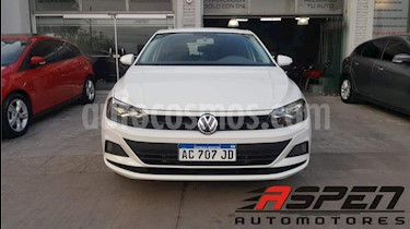 Foto venta Auto usado Volkswagen Polo 5P Trendline Aut (2018) color Blanco precio $610.000