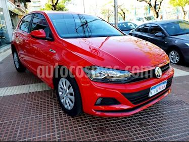 Foto venta Auto usado Volkswagen Polo 5P Trendline Aut (2018) color Rojo Tornado precio $654.990