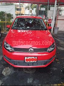 Volkswagen Polo Hatchback 1.2L TSI Aut usado (2017) color Rojo Flash precio $190,000