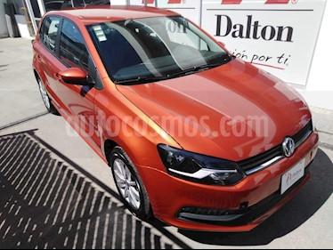 Foto venta Auto usado Volkswagen Polo Hatchback 1.6L Aut (2017) color Naranja precio $189,000