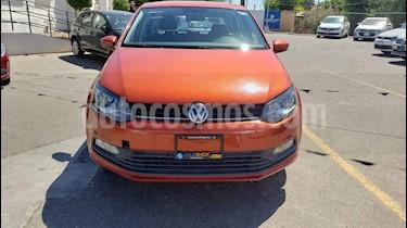 Foto venta Auto usado Volkswagen Polo Hatchback 1.6L Aut (2018) color Naranja precio $158,900