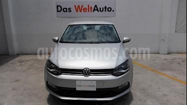 Foto venta Auto usado Volkswagen Polo Hatchback 1.6L Aut (2017) color Plata precio $199,000