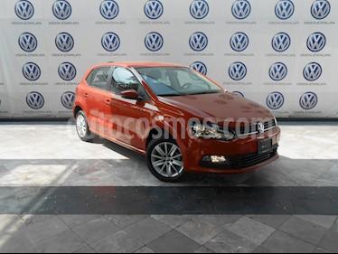 Foto venta Auto usado Volkswagen Polo Hatchback 1.6L Aut (2018) color Naranja Cobre precio $209,000