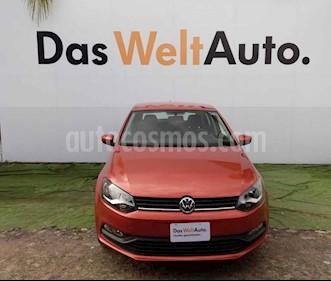 Foto Volkswagen Polo Hatchback 1.6L Aut usado (2018) color Naranja precio $188,500