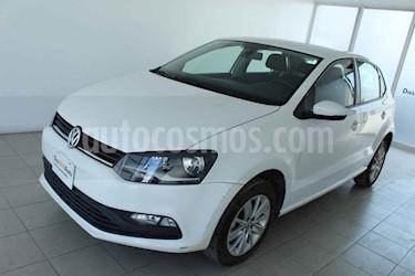 Foto Volkswagen Polo Hatchback 1.6L Aut usado (2018) color Blanco precio $215,000
