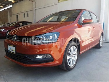 Foto venta Auto usado Volkswagen Polo Hatchback 1.6L Tiptronic (2018) color Naranja precio $174,900