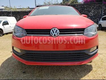 Foto venta Auto usado Volkswagen Polo Hatchback 1.6L Tiptronic (2018) color Rojo precio $209,000