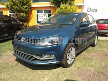 Foto venta Auto Seminuevo Volkswagen Polo Hatchback 1.6L (2017) color Azul precio $205,000