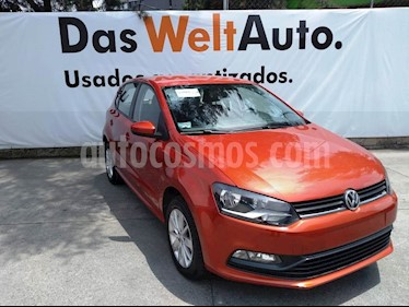 Foto venta Auto usado Volkswagen Polo Hatchback 1.6L (2018) color Naranja Cobre precio $199,000