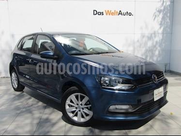 Foto venta Auto Seminuevo Volkswagen Polo Hatchback 1.6L (2018) color Azul precio $205,000