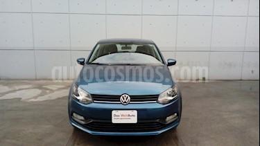 Foto venta Auto usado Volkswagen Polo Hatchback 1.6L (2018) color Azul precio $199,000